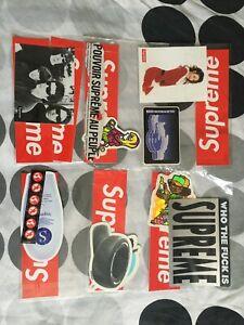 supreme sticker pack bundle, box logo