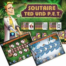 ⭐️ Solitaire - Ted und P.E.T - PC / Windows - BLITZVERSAND ⭐️