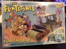 The Flinstones 1/25 Scale Flintmobile Plastic Model Kit Lindberg New