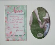 """ Nan"" Keepsake photo mount to fit 8"" x 10"" Bedroon Living Room Hallway Study"