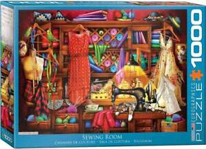 Sewing Room 1000-Piece Puzzle