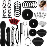 Hair Styling Accessories Kit Set Hair Bun Maker Fast Spiral Hair Braid Hair Tool