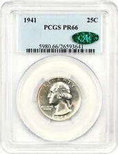 1941 25c PCGS/CAC PR 66 - Washington Quarter