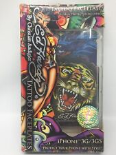 Ed Hardy Tiger Tattoo Faceplate With Screen Protector For iPhone 3G And 3GS