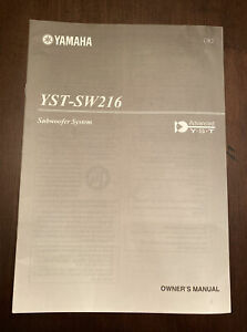 YSY-SW216 Subwoofer System Owner's Manual