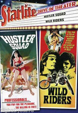 STARLITE DRIVE-IN HUSTLER SQUAD / WILD RIDERS Brand New & Factory Sealed OOP DVD