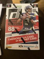 2020 Donruss Football sealed blaster box (88 Cards Per Box) 2020 Target Donruss