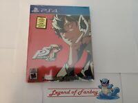 Persona 5 Royal: Steelbook Edition - ps4 * New * Phantom Thieves PlayStation 4
