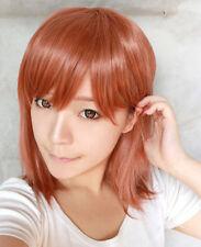Toaru Kagaku no Railgun shirai kuroko Misaka Mikoto Cosplay Perücke wig