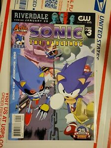 Sonic the Hedgehog #290 Last Final Issue Archie Comics Low Print Run NM RARE!