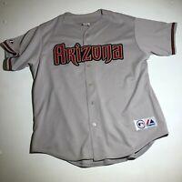 Majestic Arizona Diamondbacks Stitched Baseball Jersey - XL