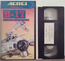 VHS Ita Documentario B-17 La Fortezza Volante aerei 60 min DV020 no dvd(VH34)