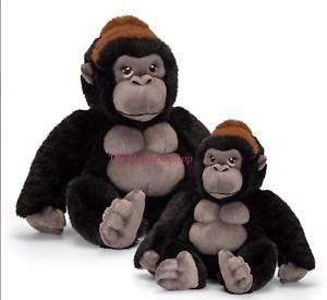 ~❤️~GORILLA small 20cm medium 30cms soft Toy KEELECO Stuffed by Korimco~❤️~