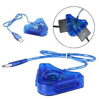 Game Controller Converter PSX PS1 PS2 To PC Converted Cable USB Adapter Durable