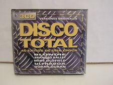 Disco Total - 45 Exitos De Una Epoca - 3 x CD - 1999 - Spain - EX+/EX+