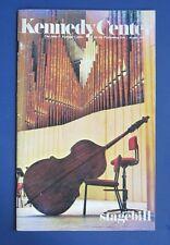 ELIZABETH TAYLOR/RICHARD BURTON Vintage Kennedy Center Stagebill Private Lives