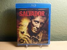 Salvador Blu-Ray James Woods Oliver Stone Limited Edition of 3,000 OOP Brand New
