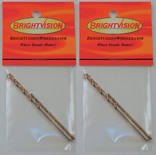 Two Sets of Hot Wheels Rivet Removal Drill Bits For Customs & Restorations 1-72