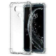Spigen Crystal Shell LG G6 Case With Clear Back Panel and Reinforced Corners on