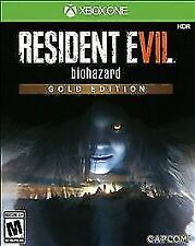 Resident Evil 7 Biohazard: Gold Edition (Xbox One, 2017) COMPLETE & TESTED