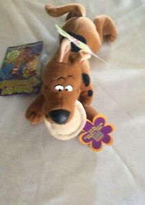 Scooby Doo 1999 Applause Nwt Pull Pizza He Wiggles