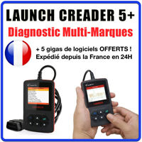 Valise SCANNER Diagnostique LAUNCH CREADER 5+ V+ - MULTIMARQUES OBD2 AUTO
