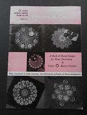 VINTAGE fiori in Crochet-Cappotti per cucito libro di Gruppo No.735 - MOLTO BUONO