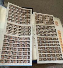 India Stamps Mint Sheet Actress, Olympics, Vivekananda, Indo Israel Rare Lot