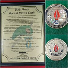Mc-Nice: Socom Coin & Personalized Special Forces Creed