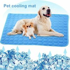 Dog Mat Cooling Summer Pad Mat for Dogs Cats Blanket Breathable Washable Pet Bed
