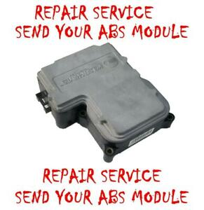 13354715 1999-2005 CHEVROLET ASTRO ABS  Control Module EBCM REPAIR SERVICE CHEVY