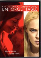 Unforgettable (DVD, 2017) Katherine Heigl, Rosario Dawson