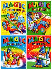 4 x A4 magie Peinture colorer Art Books pour enfants no désordre juste de l'eau 920