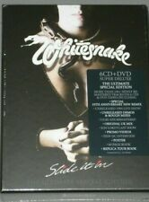 WHITESNAKE Slide It In (2019 Remaster) Super Deluxe Box 6 CD / 1 DVD New Sealed
