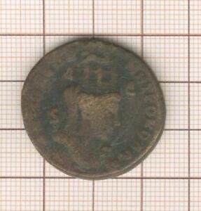 bronze colonial romain  15.07g Tyché coiffé des tours de la ville , Antioche?