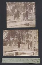Laying of the Corner Stone St. Michael the Archangel Church Cannes 1894 Photo
