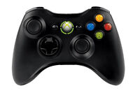 Genuine Microsoft Xbox 360 Wireless Game Controller Windows PC with USB receiver