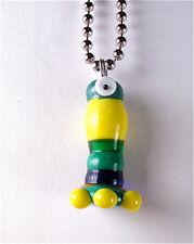 HANDMADE Lampwork Glass Pendant Bead OOAK BrOOkLyN MoNsTeRs made in USA
