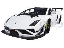 LAMBORGHINI GALLARDO GT3 FL2 2013 WHITE 1/18 MODEL CAR AUTOART 81358