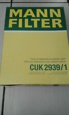 MANN CUK2939/1 Cabin Filter  AUDI  VW  SEAT  SKODA