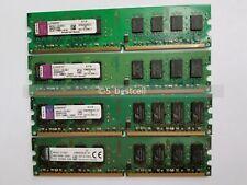 Kingston 8GB 4GB 2GB DDR2 PC2-6400 800 MHz 240-Pin Low Density Desktop Ram LOT