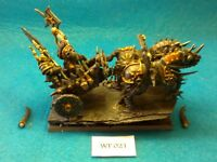 Warhammer Fantasy - Chaos - Chariot with Chosen Crew Pro Painted - Metal WF21