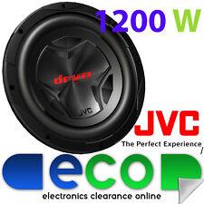 "OFFERTA SPECIALE JVC DRVN Series 12"" Watt AUTO 30 cm 1200 W SUB SUBWOOFER BASS"