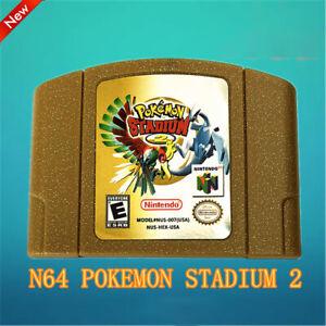 Pokemon Stadium 2 N64 Nintendo 64 TESTED Fast Ship Great Condition USA Seller
