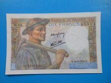 10 francs mineur 22-6-1944 F8/12 NEUF