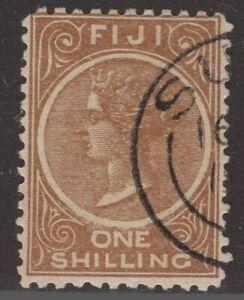 Fiji   used Sc. #44 1sh   Queen Victoria  1881