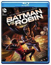 BATMAN VS ROBIN (DC) with slipcover  BLU RAY  - Sealed Region free