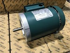 1HP RELIANCE MOTOR P56H1441 3 PHASE 56C 208/230/460 5/8 SHAFT NEW in Box