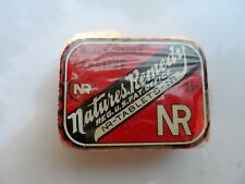NR Natures Remedy All Vegetable Laxative Advertising Tin & Product Wrapped