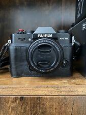 Fujifilm X Series X-T10 16.3MP Digital Camera - Black With Fujinon 27mm F2.8